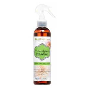 Ecokindness Essential Oil Hydrosol Spray, Eucalyptus, 8 Oz