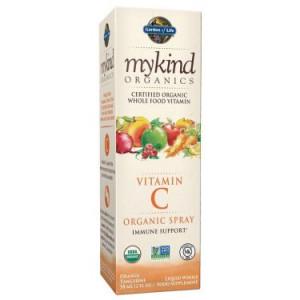 Garden of Life Mykind Organics Vitamin C Spray, Orange-Tangerine, 2 Fl Oz
