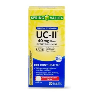 Spring Valley UC-II Clinical Strength Tablets, 40 mg, 30 Ct