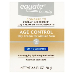 Equate Beauty Age Control Day Cream for Mature Skin, 2.5 Oz