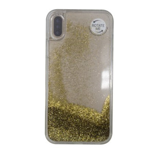 Onn by  gold cascade case for iphone x