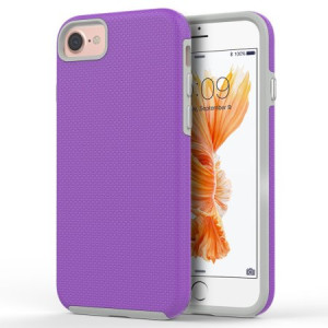 MundazePurple EZPRESS Double Layered Case For Apple iPhone 7 8 Phone