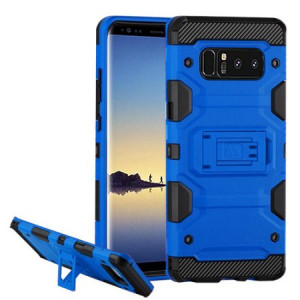 MUNDAZE Blue Defense Double Layered Case For Samsung Galaxy S8 PLUS Phone