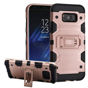 MUNDAZE Rose Gold Defense Double Layered Case For Samsung Galaxy Note 8 Phone