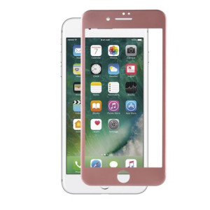 MUNDAZE Rose Gold Tempered Glass Screen Protector For Apple iPhone 7