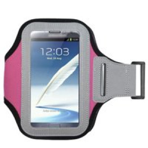 Pink Exercise Running Fitness Armband For Alcatel A30 Fierce REVVL Walters Idol 5 Idol 5s Nitro 4 Fierce XL