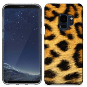 MUNDAZE Classic Leopard Case Cover For Samsung Galaxy S9