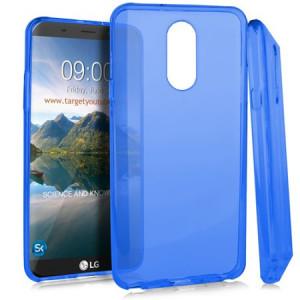 MUNDAZE Blue Candy Skin Flexible TPU Case For LG Stylo 4 Phone