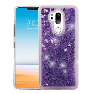 MUNDAZE Purple Motion Glitter Chrome Case For LG G7 ThinQ Phone