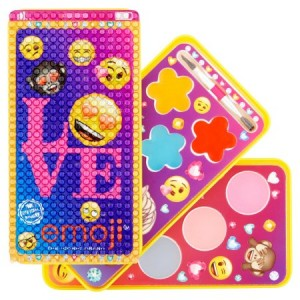 Townley Girl Emoji Lip Gloss Compact