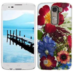 Mundaze Printed Pressed Blossoms Phone Case Cover for LG G Stylo 2