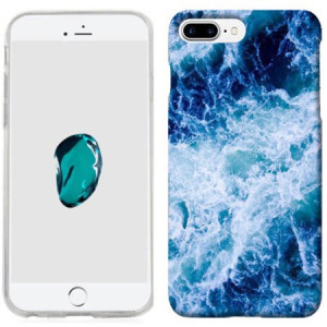 Mundaze Deep Ocean Waves Phone Case Cover for Apple iPhone 7