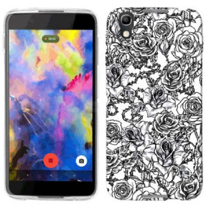 Mundaze Roses and Thorns Phone Case Cover for Alcatel IDOL 4 Nitro 4