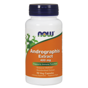 NOW ANDROGRAPHIS EXTRACT 400MG 90 VCAPS