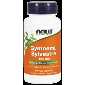 NOW Gymnema Sylvestre 400 mg Vegetarian Capsules, 90 Ct