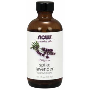 NOW Essential Spike Lavender Oil, 4 Oz