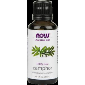 NOW Essential Camphor Oil, 1 Oz
