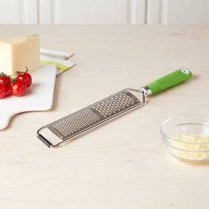 Tasty Handheld Grater with Soft Grip Handle, Blue