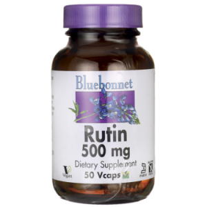 Bluebonnet Rutin 500 Mg, 50 Ct