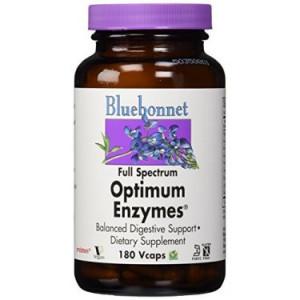 Bluebonnet Full Spectrum Optimum Enzymes, 180 Ct