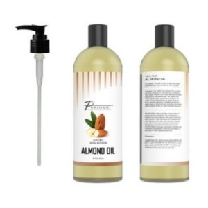 Pursonic 100% Natural Sweet Almond Oil, 16 Oz