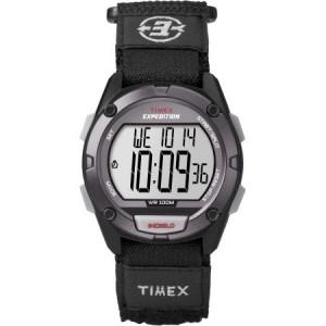 Timex Men's Expedition Digital CAT Watch, Black Fast Wrap Strap
