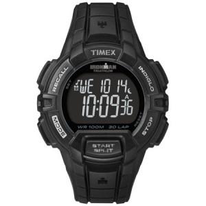 Timex Men's Ironman Rugged 30 Full-Size Watch, Black Resin Strap