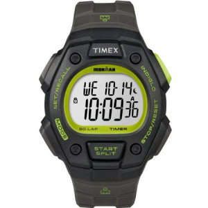 Timex Men's Ironman Classic 30 Full-Size Watch, Gray Resin Strap