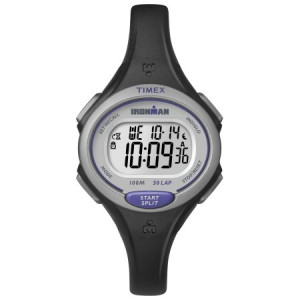 Timex Women's Ironman Essential 30 Mid-Size Watch, Black Resin Strap