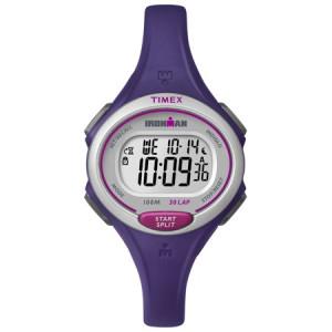 Timex Women's Ironman Essential 30 Mid-Size Watch, Purple Resin Strap
