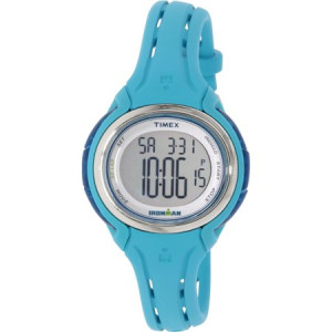 Timex Women's Ironman TW5K90600 Blue Rubber Quartz Sport Watch