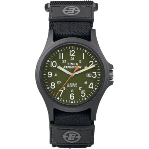 Timex Men's Expedition Acadia Watch, Black Fast Wrap Strap