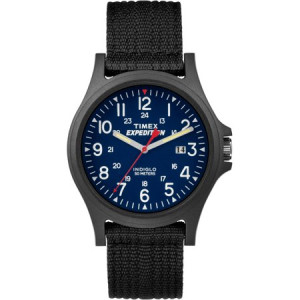 Timex Men's Expedition Acadia Watch, Black Nylon Strap
