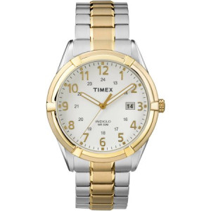 Timex Men's Easton Avenue Watch, Two-Tone Stainless Steel Expansion Band