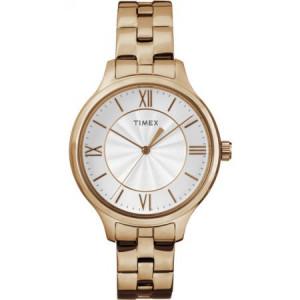 Timex Women's Peyton Watch, Rose Gold-Tone Stainless Steel Bracelet