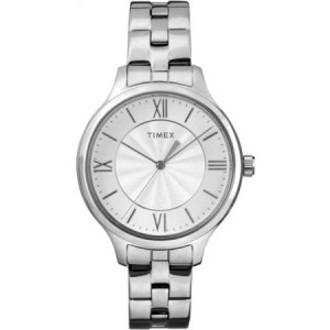 Timex Women's Peyton Watch, Silver-Tone Stainless Steel Bracelet