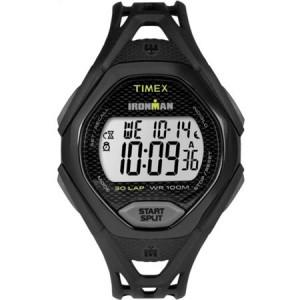 Timex Men's Ironman Sleek 30 Black Watch, Resin Strap