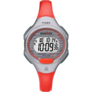 Timex Women's Ironman Essential 10 Orange/Gray Watch, Resin Strap