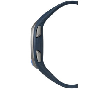 Timex Unisex Ironman Sleek 50 Full-Size Blue/Black Watch, Resin Strap
