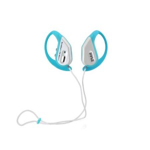Water Resistant BT Sports Headphones - Weatherproof Headphones with Built-in Mic for touch free Talking Ability (Blue)