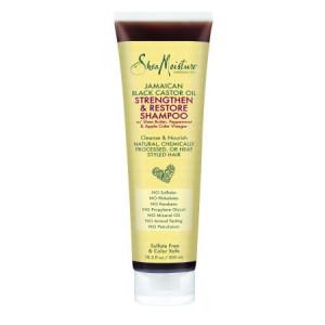 SheaMoisture Jamaican Black Castor Oil Strengthen & Restore Shampoo, 10.3 oz