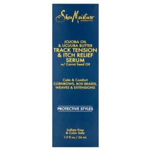 Shea Moisture Jojoba Oil & Ucuuba Butter Track Tension & Itch Relief Serum, 1.9 fl oz