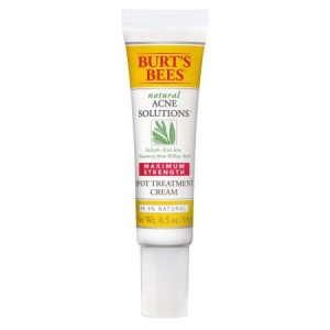 Burt's Bees Natural Acne Solutions  Maximum Strength Spot Treatment Cream for Oily Skin, 0.5 oz