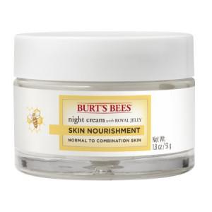 Burt's Bees Skin Nourishment Night Cream for Normal to Combination Skin, 1.8 oz