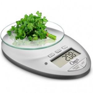 Ozeri Pro II Digital Kitchen Scale with Countdown Kitchen Timer, Black