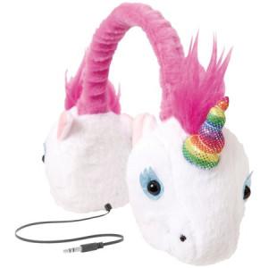 ReTrak ETAUDFUNIC Retractable Animalz Headphones (Unicorn)
