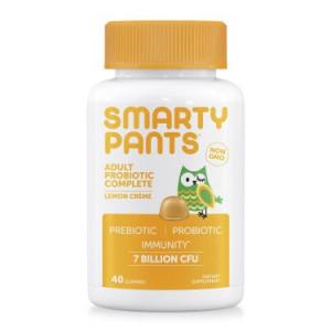 SmartyPants Adult Probiotic Complete, Lemon Crme, 40 ct