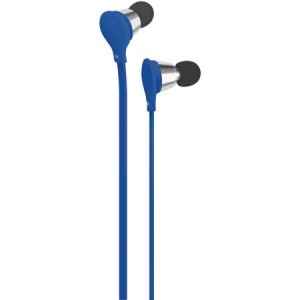 AT&T EBV01-BLU Jive Noise-Isolating Earbuds with Microphone & Volume Control (Blue)