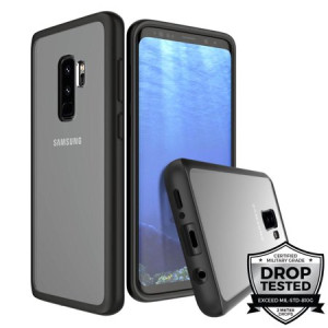 Prodigee Safetee Slim Case for Samsung Galaxy S9+ - Clear/Black