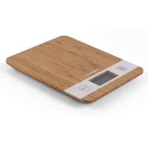 Westinghouse Digital Kitchen Scale, Bamboo